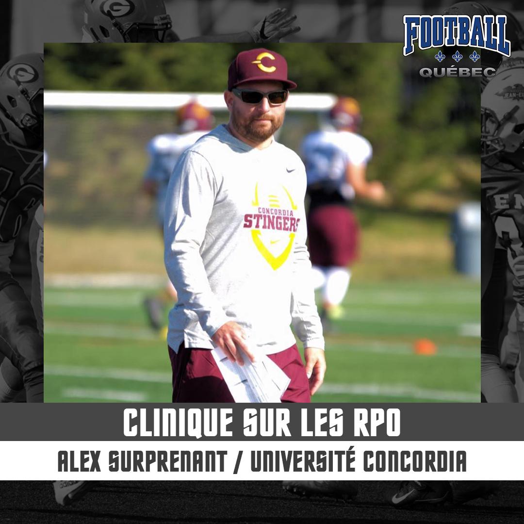 Clinique Run-Pass Option par Alexandre Surprenant